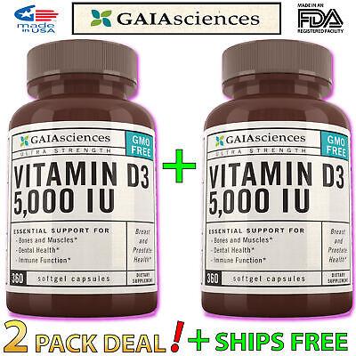 2X Vitamin D3 Vegan Omega 3 Algal Oil 100% Plant Based Best Supplement For (Best Omega 3 Supplement For Women)