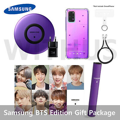 Samsung Galaxy S20+ BTS Edition Gift Full Package - Charging Pad+Case Set+Poster