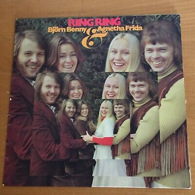"ABBA's 1st LP: ""Ring Ring"", 1973, POLS 242, SWEDISH IMPORT, VG+"