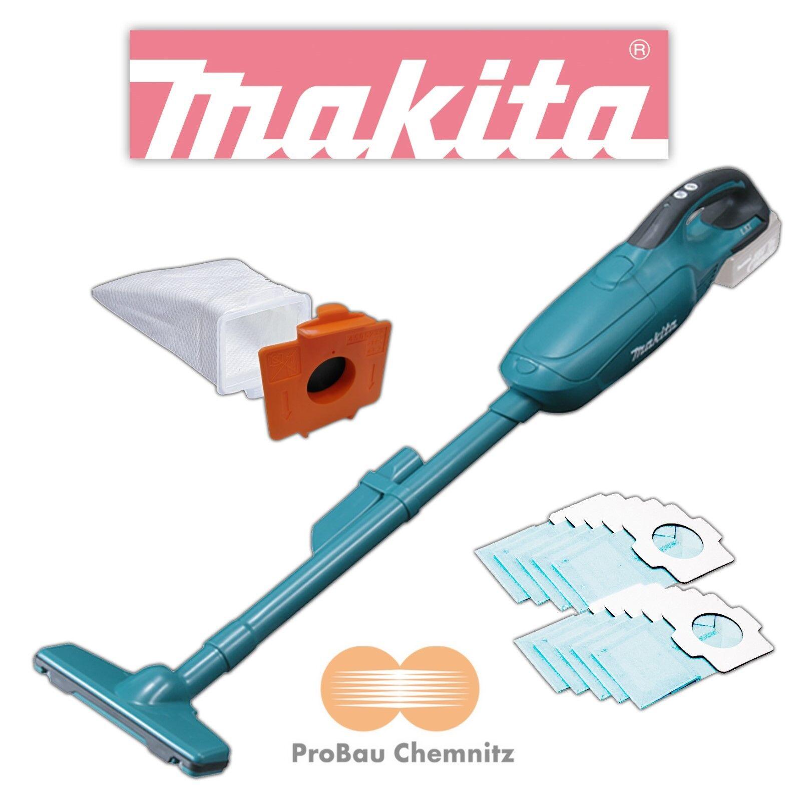 Makita 18V Akku-Staubsauger DCL 182 Z DCL182Z inkl. 10 Papierfilter, BCL182Z,NEU