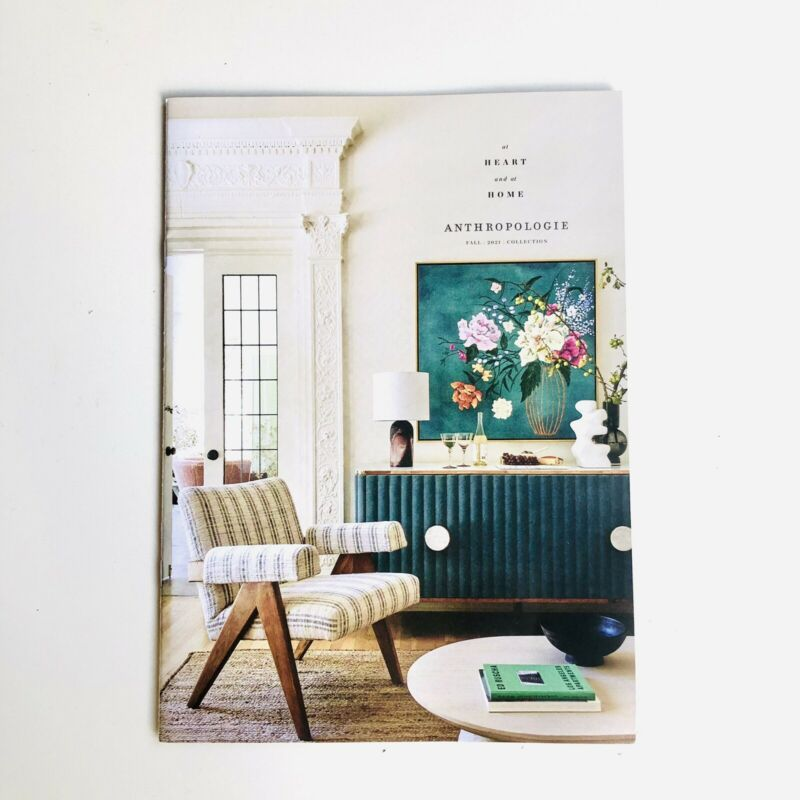 Anthropologie Fall 2021 Catalog house & home collection - At Heart and At Home