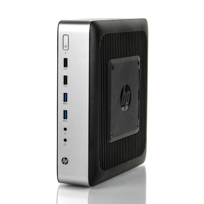 HP T730 Thin Client M.2 AMD RX-427BB 8GB 32GB M.2 SSD Win 7 P3S25AT#ABA - NO AC