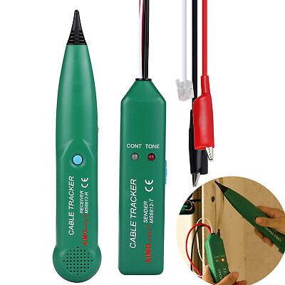 Ms6812 Cable Finder Tone Generator Probe Tracker Wire Network Tester Tracer Kit