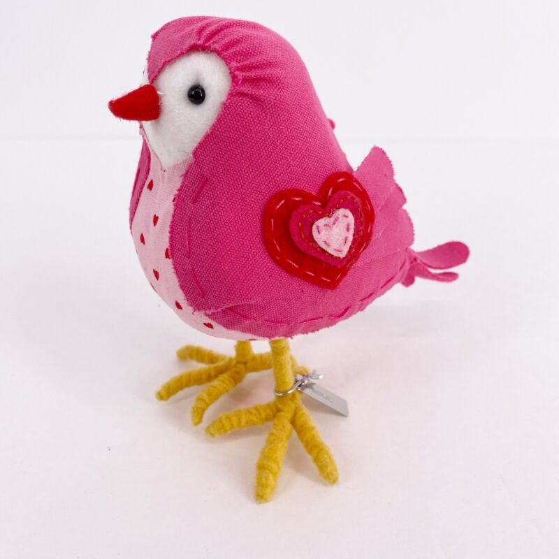 2017 Spritz Target Bird ROSIE Valentines Day Pink Heart Table Decor