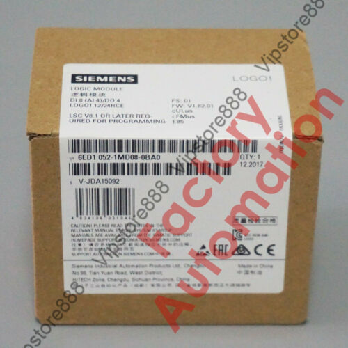 2017 *FACTORY SEAL*Siemens 6ED1052-1MD08-0BA0 Replace 6ED1052-1MD00-0BA8 US SHIP