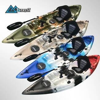 Massive Sale! Everest 3M Lango Kayak Package, FREE Paddle Leash