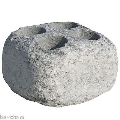 pietra di infusione aufguss-stein höyrykivet sauna con 4 IMBUTO Nel set 2 pezzi