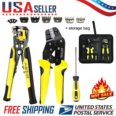 4 In 1 Wire Crimpers Wire Stripper Ratcheting Terminal Crimping Pliers Tool M1r6