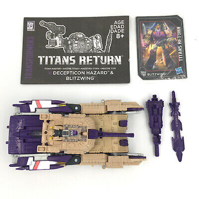 TRANSFORMERS Titans Return BLITZWING Headmaster Voyager COMPLETE Generations