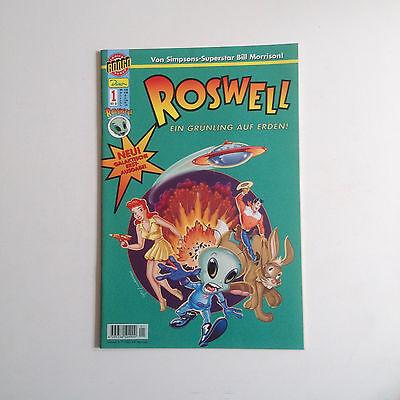Roswell Ein Grünling auf Erden Nr. 1 Comic Bongo Dino Comics