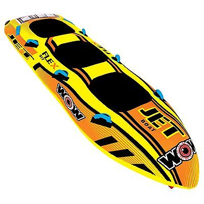 Jet Boat 3 Person tube inflatable towable lounge water-ski WOW 2017 new item
