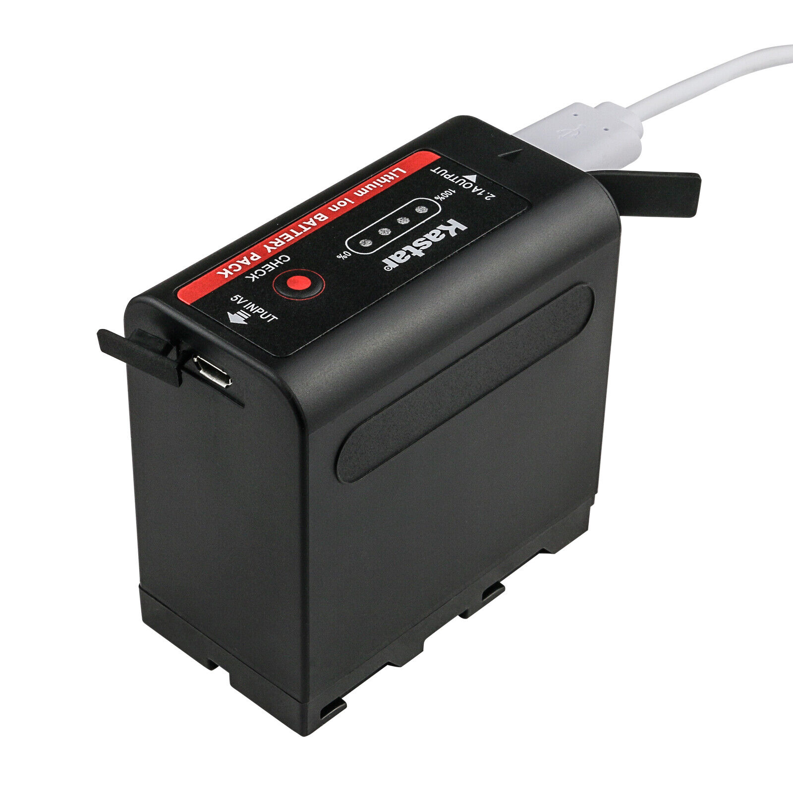 Kastar F980 Battery LCD Charger For Sony NP-F960 CCD-TRV90 CCD-TRV91 CCD-TRV92 - $7.99