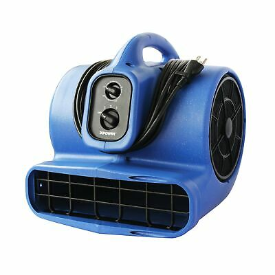 Xpower X-800tf 34 Hp Air Mover Carpet Dryer Floor Fan Utility Blower - Wi...