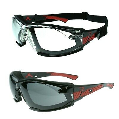 Radians Obliterator Iq Removable Foam Lined Safety Glasses Iquity Anti-fog