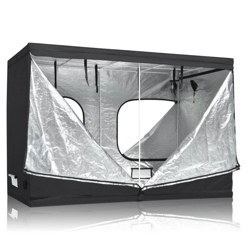 "LAGarden™ 118""x59""x79"" Grow Tent Reflective Mylar Hydroponic 600D Non Toxic Room"