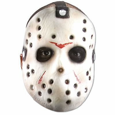 Adult Men's Friday The 13th Jason Vorhees Halloween Face Hockey Goalie Mask - Halloween Masks For Men