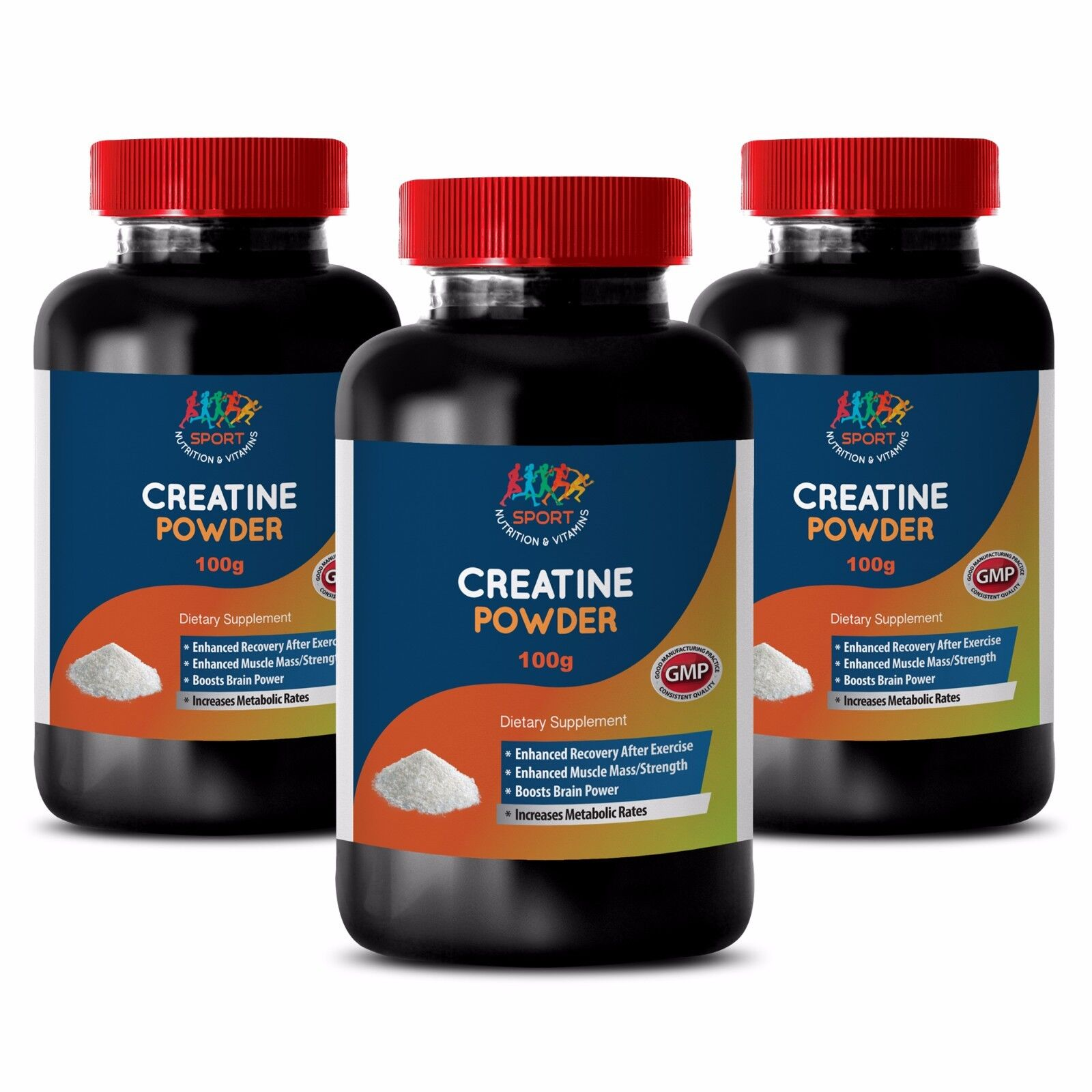 Age Male Vitality Support - Creatine Powder 100g 3b - Cre...