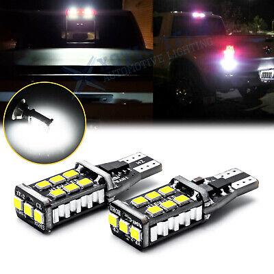 T15 912 921 Error Free White LED 3rd Brake Light Cargo For Dodge Ram 1500 2500