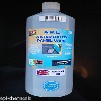 Panel wipe water based degreaser pre paint wipe 1 litre
