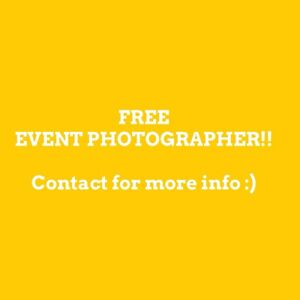 FREE EVENT PHOTOGRAPHER!!