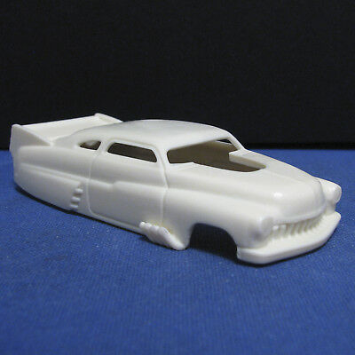 Jimmy Flintstone HO Scale 1949 Mercury Pro Mod Resin Slot Car Body For T-jet  #2