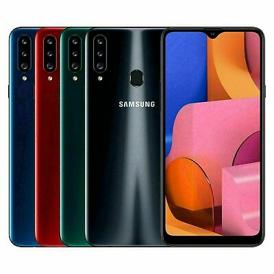 New Samsung Galaxy A20s Dual Sim 2019 4G LTE Smartphone Black Blue Red