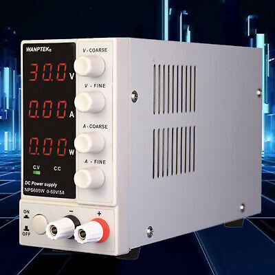 0-60v Adjustable Dc Voltage Stabilizer Power Supply Digital Variable Regulator