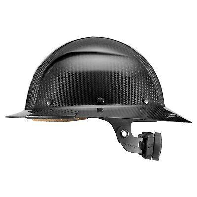 Lift Safety Hdc-15kg Dax Carbon Fiber Full Brim Hard Hat Black