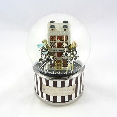 Henri Bendel Snow Globe Lighted Musical