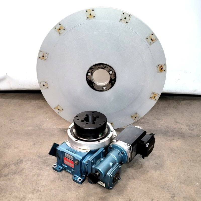 Camco 601RDM12H24-180 Rotary Indexer 12 Stops With KEB M63P4 0.22kW 230/460VAC