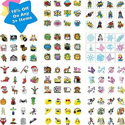 36 Childrens Pirate Princess Temporary Tattoos Party Bag Filler Kids Boys - Pirate Tattoos Temporary