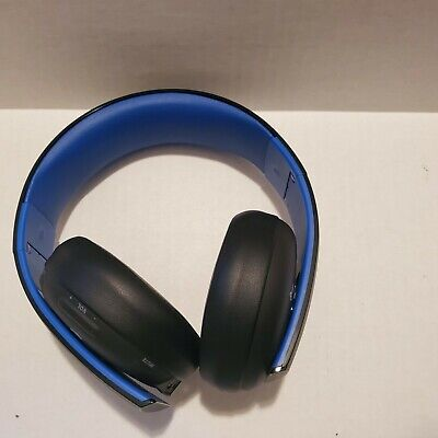 PlayStation Gold Wireless Stereo Headset for PS3 PS4 Headphones Sony