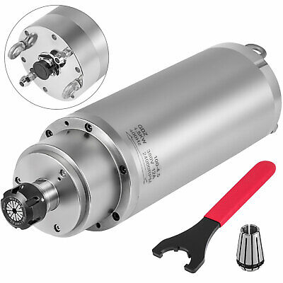 Er25 Water Cooled Spindle Motor 4.5kw 380v 4bearing 300hz Cnc Woodworking Router