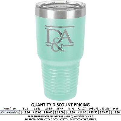 Personalized Aqua Vacuum Insulated Tumblers Custom Design Engraved Gifts Mug Cup (Personalized Insulated Cups)