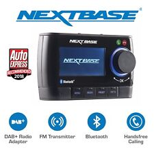 Nextbase In-Car DAB+ DAB350 Digital Radio Bluetooth Handsfree Calling Adapter