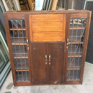ANTIQUE LEADLIGHT CABINET Dandenong Greater Dandenong Preview
