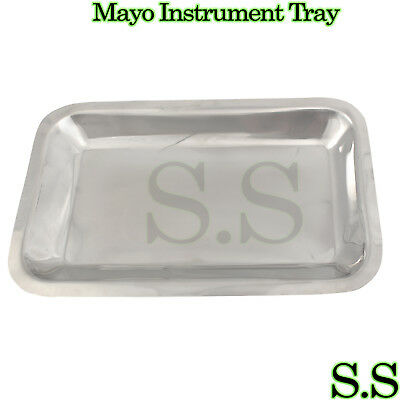 Mayo Instrument Tray 10x6x34 Surgical Dental Veterinar