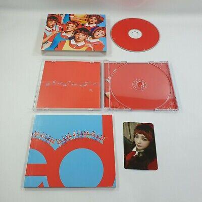 Red Velvet 1st Album The Red Official Original CD Booklet JOY Photocard K-POP