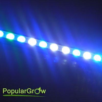 PopularGrow 108W LED Aquarium light bar Blue&White Coral reef Fish Tank lighting