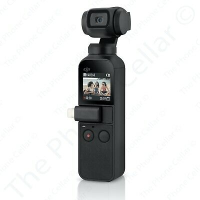 DJI Osmo Pocket CPZM0000009701 Handheld 4K Camera with 3-Axis Gimbal Stabilizer