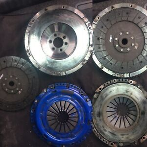 Flywheel  clutch volkswagen vw SPEC stage 2 single mass