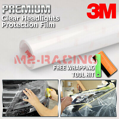 Clear Wrap (*3M Clear Protection Film Headlight Taillight Fog Light Sider Marker Vinyl)