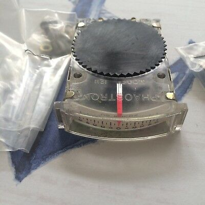 Phaostron Model 1211 Dc Panel Meter Gauge 0 To 5vdc Nsn 6625 01 296 8839