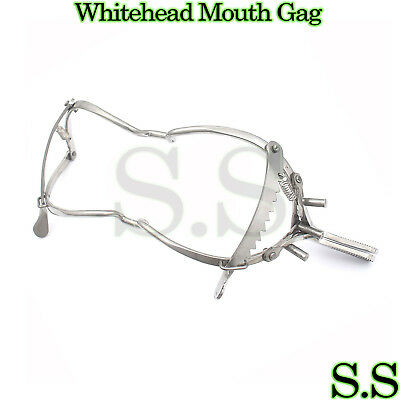 New 5 Whitehead Dental Mouth Gag Medical Instruments