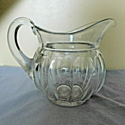 VINTAGE HEISEY ELEGANT GLASS PURITAN COLONIAL LARGE PITCHER 72 FL.OZ yes