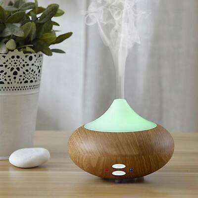 Ultrasonic Air Purifier Humidifier LED 7 Colour Aroma Essential Oil Diffuser US
