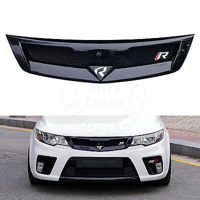 Front sport Hood Radiator Grill UNPAINTED For Kia 2009-2012 Cerato Forte Sedan