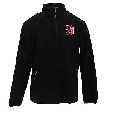 NC State Wolfpack Official NCAA Apparel Adult Size Full Zip Up Fleece Jacket New - Nc State Apparel