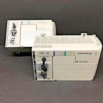 Allen Bradley 1769-l23e-qb1b Qbib 1769-ecr Compactlogix 5223e Controller 2012