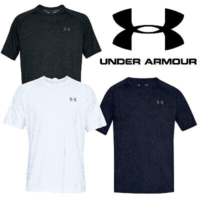 Under Armour T Shirt Sports Running Gym Training Crew Neck Top Short Sleeve Tees